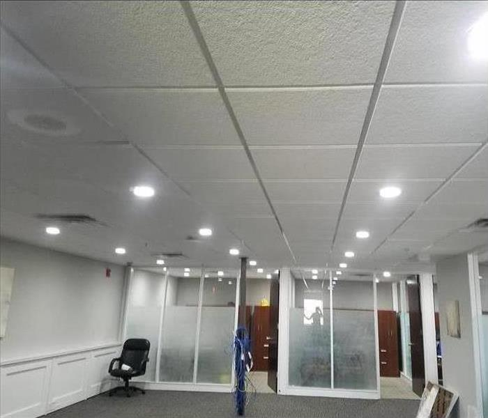 Commercial Water Damage – Lafayette Office Building After